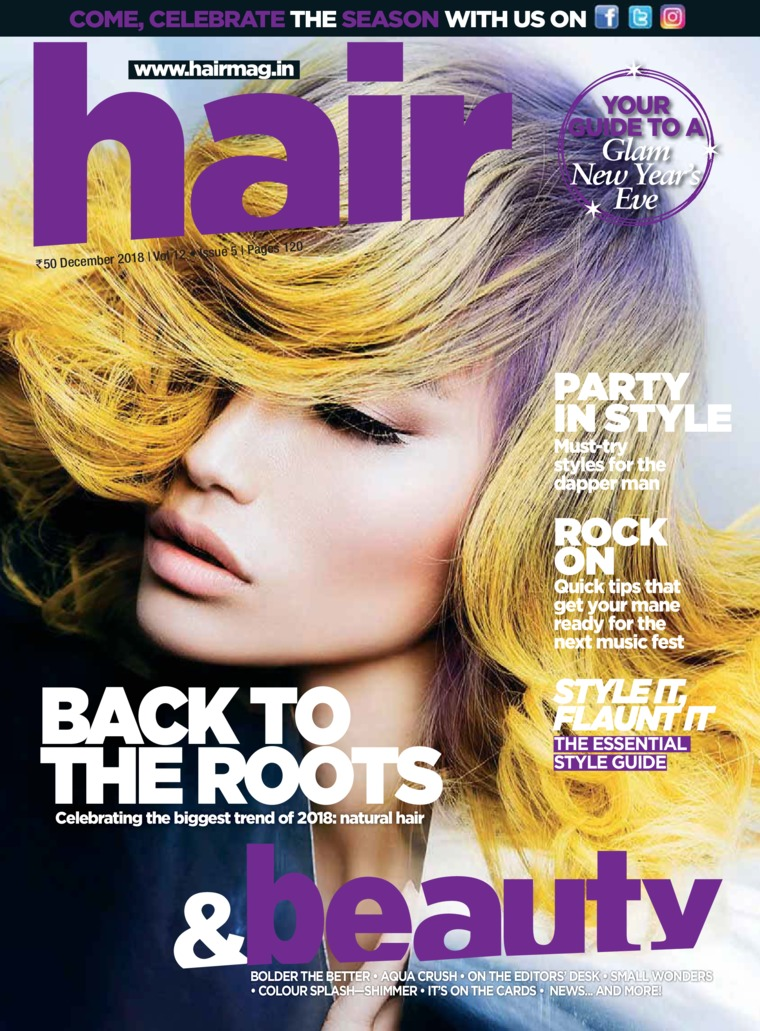 Majalah Digital Hair & Beauty Desember 2018