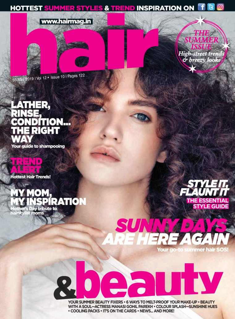 Hair & Beauty Digital Magazine May 2019