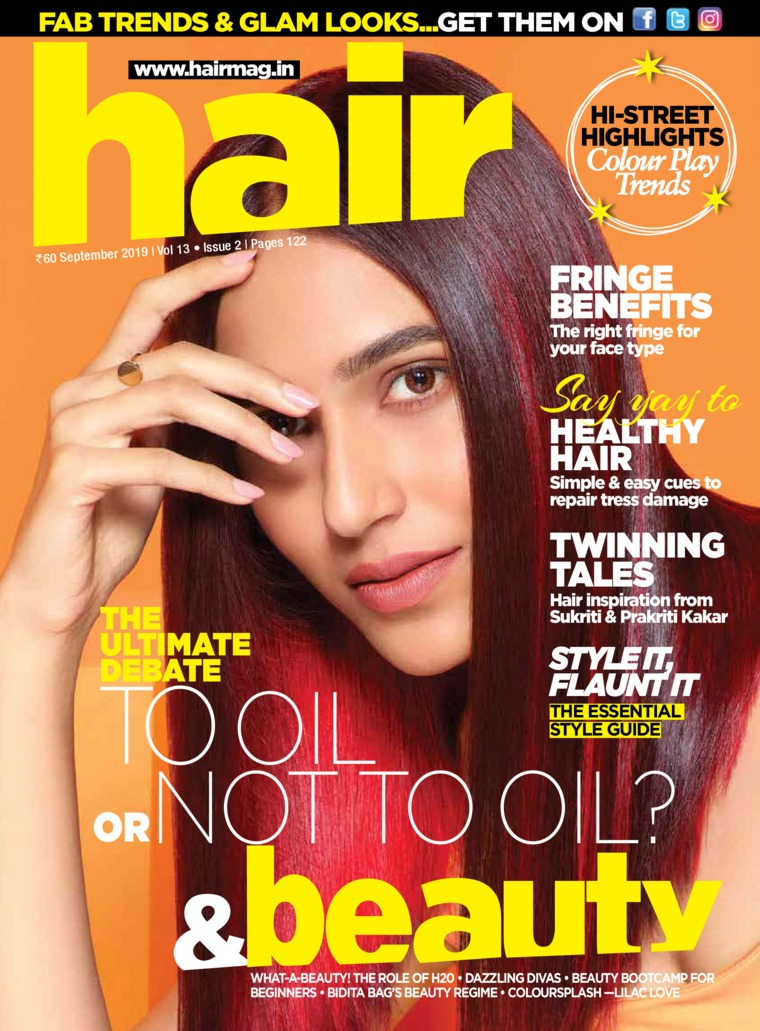 Hair & Beauty Digital Magazine September 2019