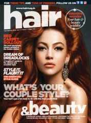 Hair & Beauty Magazine Cover February 2018