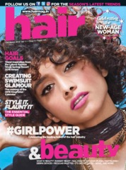 Hair & Beauty Magazine Cover March 2018