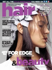Cover Majalah Hair & Beauty Mei 2018