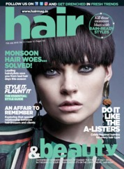 Cover Majalah Hair & Beauty Juli 2018
