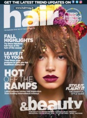 Hair & Beauty Magazine Cover September 2018
