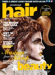 Cover Majalah Hair & Beauty Oktober 2018
