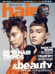 Hair & Beauty Magazine Cover January 2019