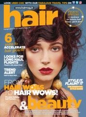 Cover Majalah Hair & Beauty April 2019