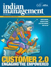 Indian management Magazine Cover September 2017