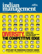 Cover Majalah indian management Januari 2018