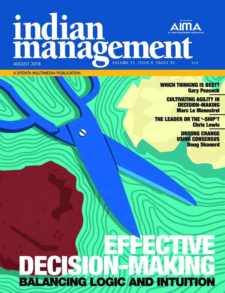 Majalah Digital indian management Agustus 2018