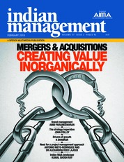 Cover Majalah indian management Februari 2018