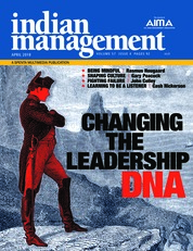 Cover Majalah indian management April 2018