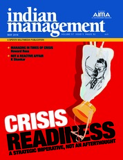 Cover Majalah indian management