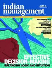 Indian management Magazine Cover August 2018
