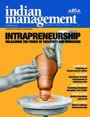 Cover Majalah indian management Oktober 2018