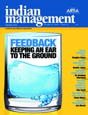 Indian management Magazine Cover January 2019