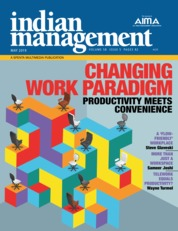 Cover Majalah indian management Mei 2019
