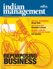 Indian management Magazine Cover September 2019