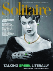 Solitaire International Magazine Cover November 2018