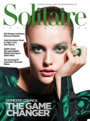 Solitaire International Magazine Cover May 2019