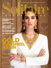 Solitaire International Magazine Cover August 2019