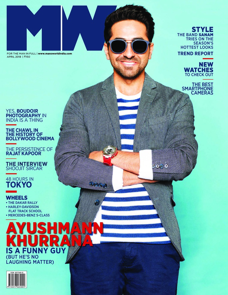 Majalah Digital Man's World India April 2018