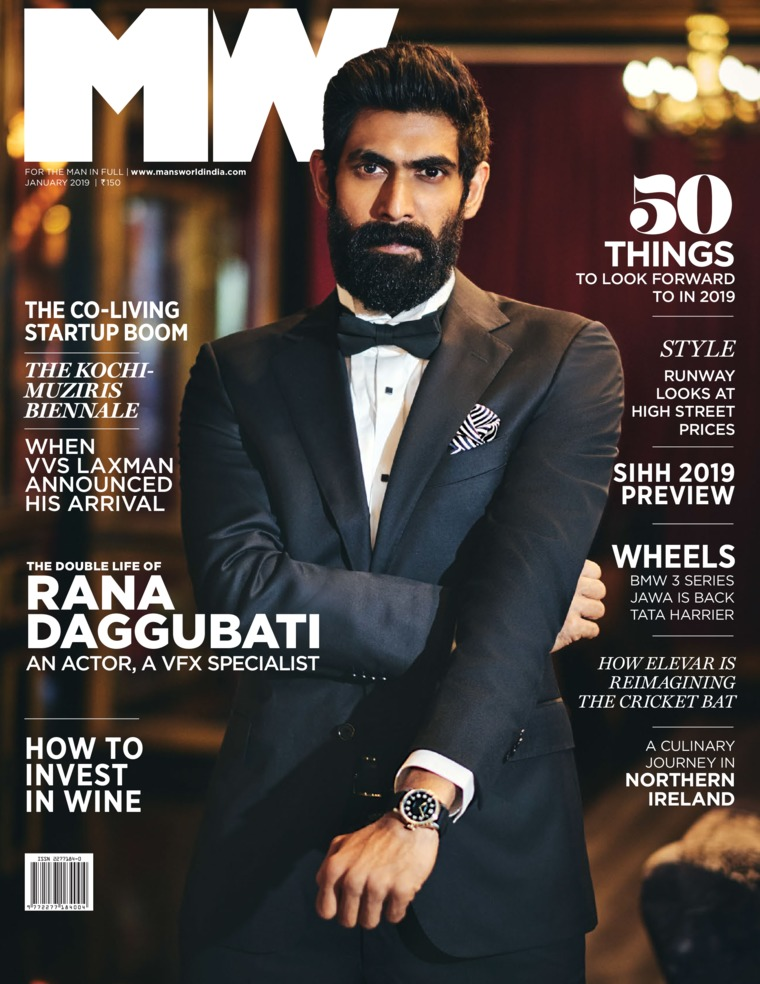 Majalah Digital Man's World India Januari 2019
