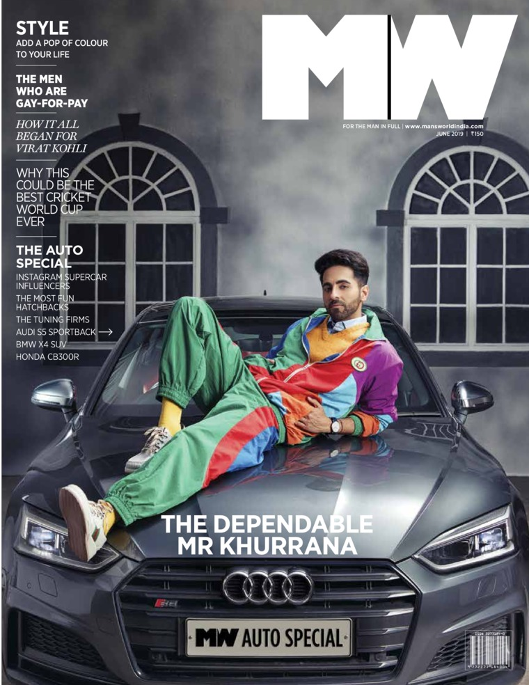 Majalah Digital Man's World India Juni 2019