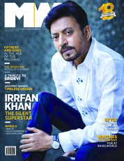 Cover Majalah Man's World India Maret 2018