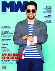 Cover Majalah Man's World India April 2018