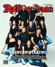 Rolling Stone India Magazine Cover October 2018