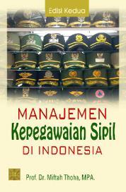 Manajemen Kepegawaian Sipil di Indonesia by Cover