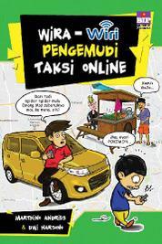 Wira-wiri Pengemudi Taksi Online by Marthino Andries Cover