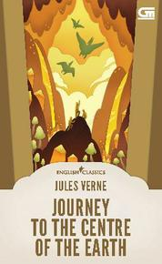 English Classics: Journey to the Center of the Earth by Jules Verne Cover