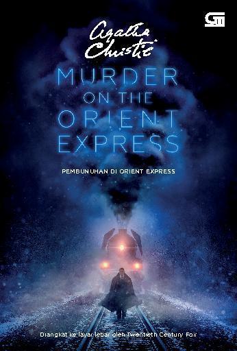 Buku Digital Pembunuhan di Orient Express - Murder on the Orient Express (Cover film) oleh Agatha Christie