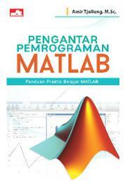 Cover Pengantar Pemrograman MATLAB oleh