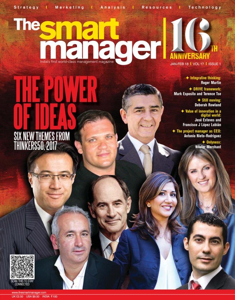 Majalah Digital The Smart Manager Januari–Februari 2018