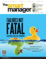 Cover Majalah The Smart Manager