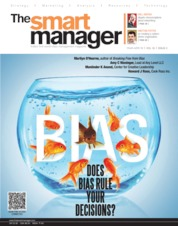 Cover Majalah The Smart Manager Maret-April 2019