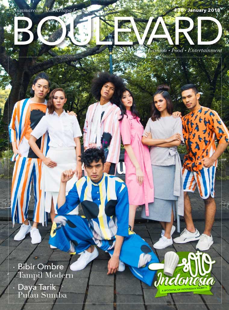 Majalah Digital BOULEVARD Januari 2018