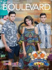 BOULEVARD Magazine Cover October 2016