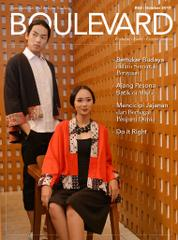 BOULEVARD Magazine Cover October 2017