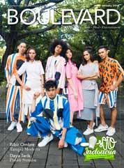 Cover Majalah BOULEVARD Januari 2018