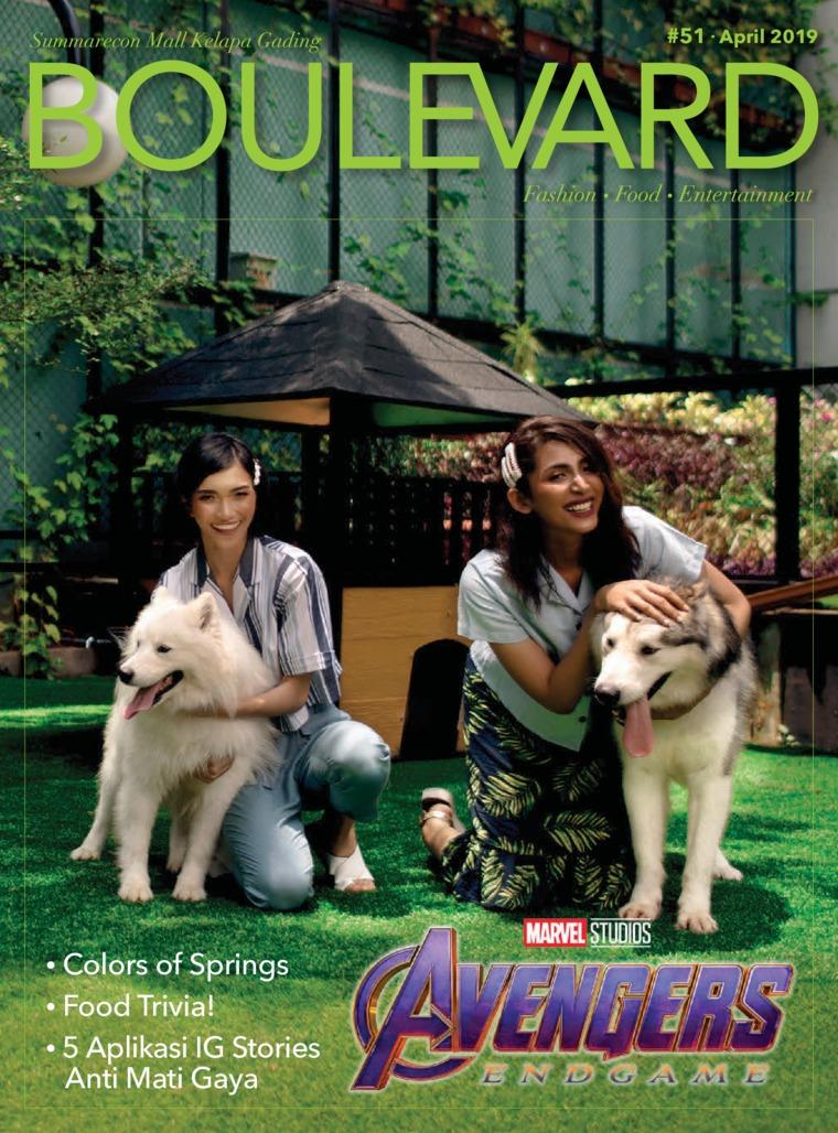 Majalah Digital BOULEVARD April 2019