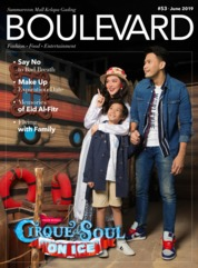 BOULEVARD Magazine Cover June 2019
