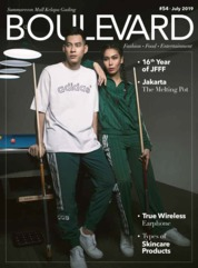 BOULEVARD Magazine Cover July 2019
