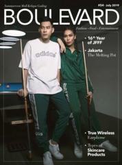 Cover Majalah BOULEVARD Juli 2019
