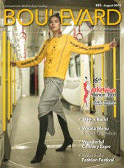 BOULEVARD Magazine Cover August 2019