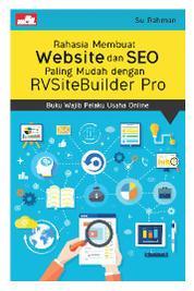 Cover Rahasia Membuat Website dan SEO Paling Mudah dengan RVSiteBuilder Pro oleh