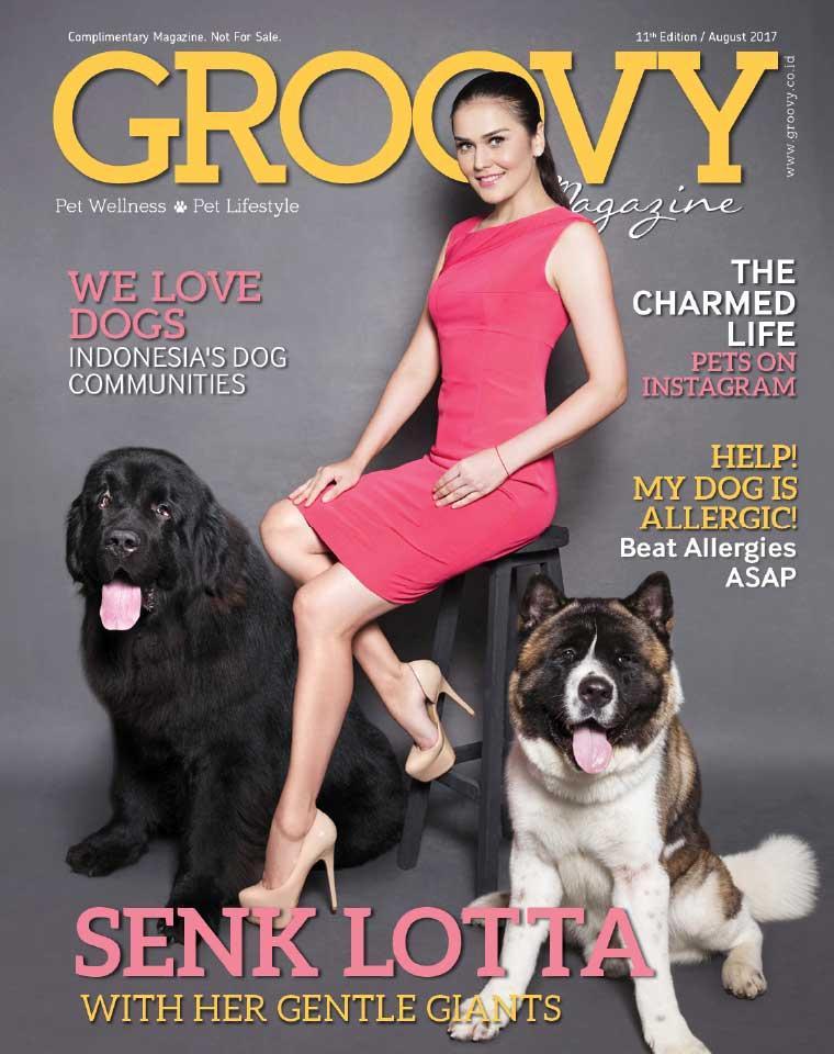 GROOVY MAGAZINE (Pet Wellness & Pet Lifestyle) Digital Magazine ED 11 August 2017